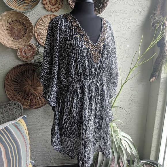 Other - Boutique Swim cover up O/S boho tunic